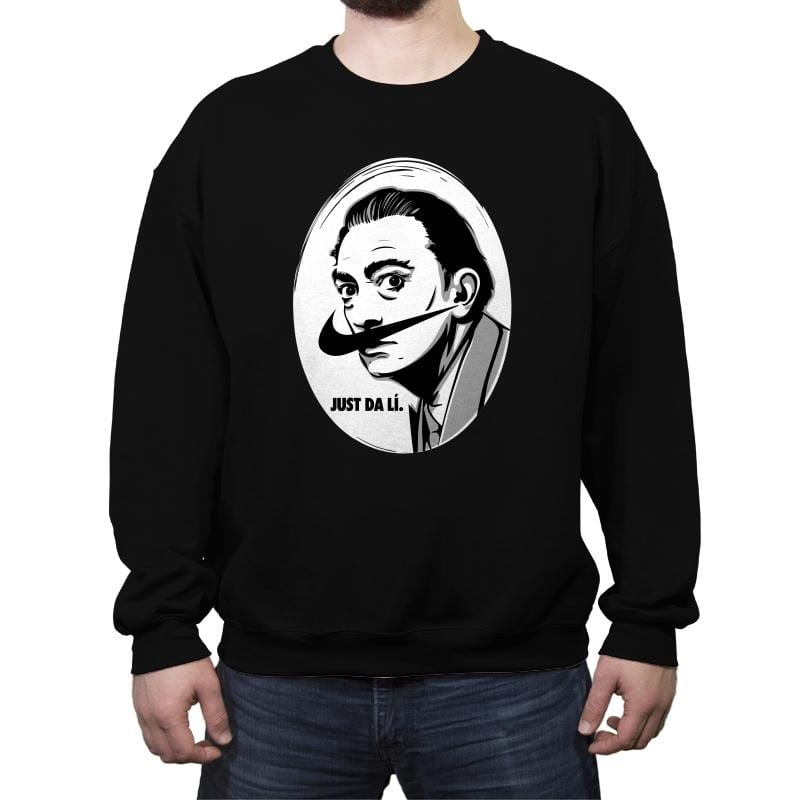 Just Da Li - Crew Neck Sweatshirt - Crew Neck Sweatshirt - RIPT Apparel