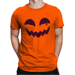 Pumpkin Cat - Anytime - Mens Premium - T-Shirts - RIPT Apparel