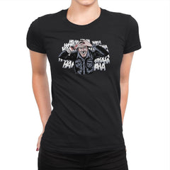 The Ash Laugh - Womens Premium - T-Shirts - RIPT Apparel