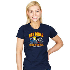 San Dimas High School - Womens - T-Shirts - RIPT Apparel