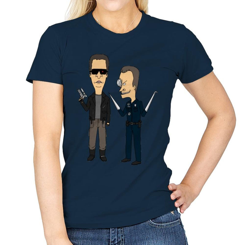 T800 and T1000 - Womens - T-Shirts - RIPT Apparel