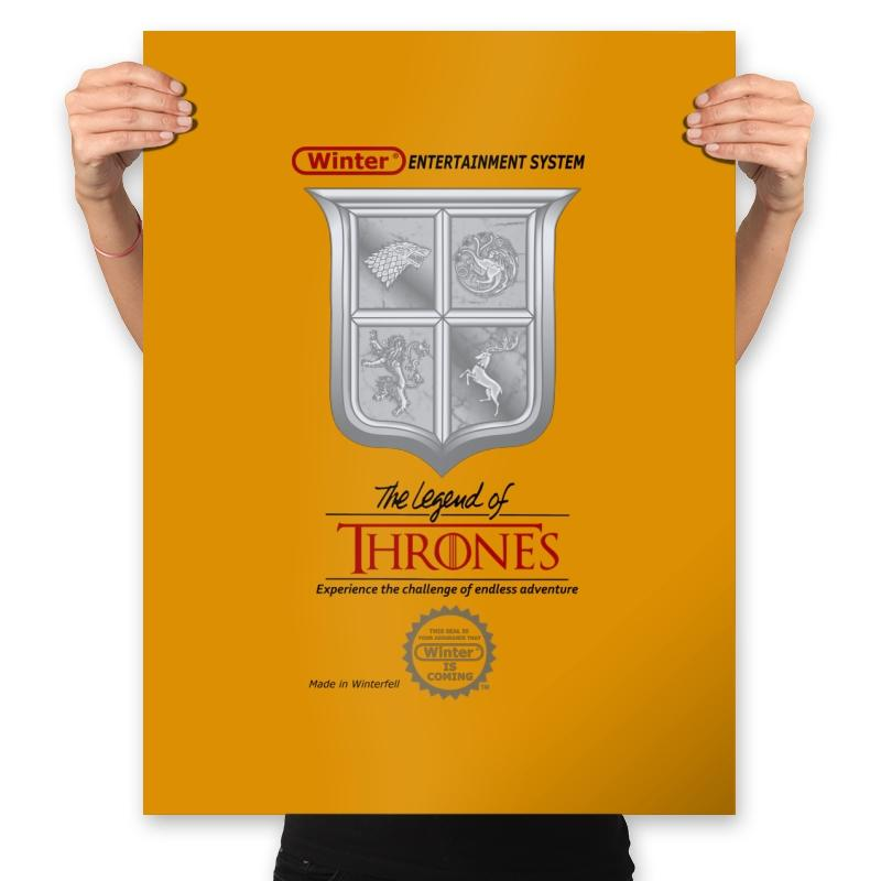 Legend of Thrones - Prints - Posters - RIPT Apparel