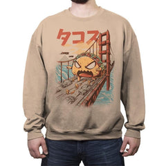 Takaiju - Crew Neck Sweatshirt - Crew Neck Sweatshirt - RIPT Apparel
