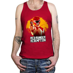 Red Redemption - Tanktop - Tanktop - RIPT Apparel