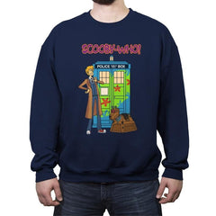 Scooby-Who - Crew Neck Sweatshirt - Crew Neck Sweatshirt - RIPT Apparel