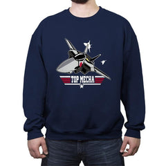 Top Mecha - Crew Neck Sweatshirt - Crew Neck Sweatshirt - RIPT Apparel