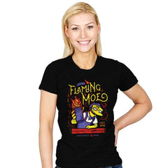 Flaming Moe - Womens - T-Shirts - RIPT Apparel