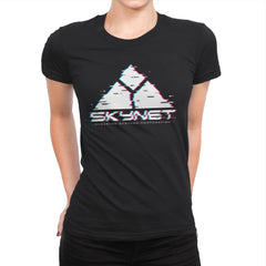 Skyglitch - Womens Premium - T-Shirts - RIPT Apparel