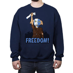 Freedobby - Raffitees - Crew Neck Sweatshirt - Crew Neck Sweatshirt - RIPT Apparel
