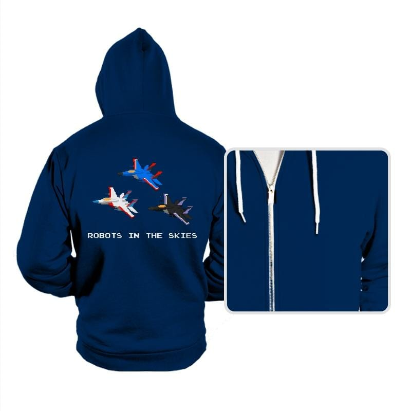 Robots in the Skies - Hoodies - Hoodies - RIPT Apparel