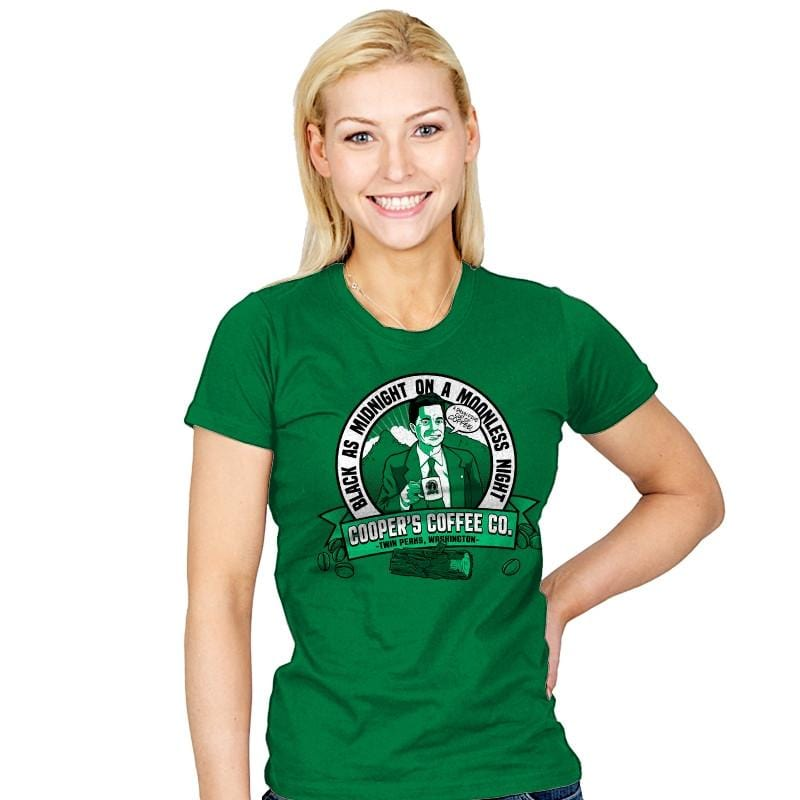 Cooper's Coffee Co. - Womens - T-Shirts - RIPT Apparel