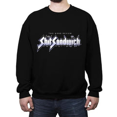 Shark Sandwich - Crew Neck Sweatshirt - Crew Neck Sweatshirt - RIPT Apparel