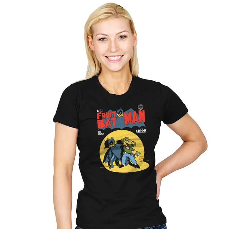 Fruitbat Man - Womens - T-Shirts - RIPT Apparel
