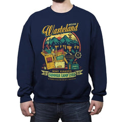 Nuclear Summer Camp - Crew Neck Sweatshirt - Crew Neck Sweatshirt - RIPT Apparel