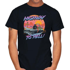 Highway to Hell - Mens - T-Shirts - RIPT Apparel