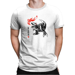 Robot Lizard King Exclusive - Mens Premium - T-Shirts - RIPT Apparel