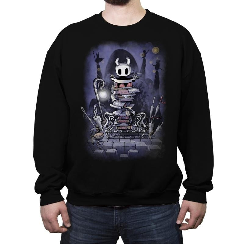 A Knight Without A Name - Crew Neck Sweatshirt - Crew Neck Sweatshirt - RIPT Apparel