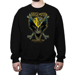 Thrash Metal - Crew Neck Sweatshirt - Crew Neck Sweatshirt - RIPT Apparel