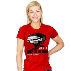 Viva la Robolution - Womens - T-Shirts - RIPT Apparel