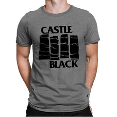 Castle Black Flag - Mens Premium - T-Shirts - RIPT Apparel