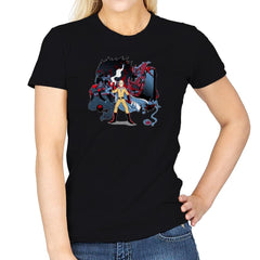 Who Would Win Exclusive - Anime History Lesson - Womens - T-Shirts - RIPT Apparel