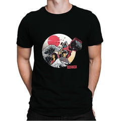 Great Love of Kanagwa Wave - Mens Premium - T-Shirts - RIPT Apparel