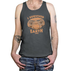 I Survived Earth - Tanktop - Tanktop - RIPT Apparel