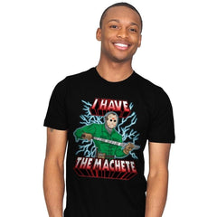 I Have The Machete! - Mens - T-Shirts - RIPT Apparel