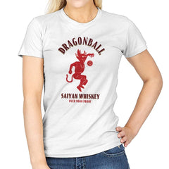 Dragonball Whiskey - Kamehameha Tees - Womens - T-Shirts - RIPT Apparel