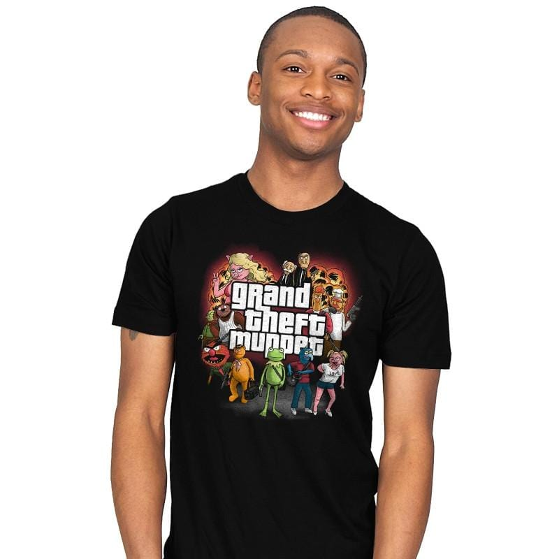Grand Theft Muppet - Mens - T-Shirts - RIPT Apparel