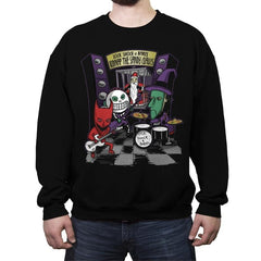 Kidnap The Sandy Claws - Crew Neck Sweatshirt - Crew Neck Sweatshirt - RIPT Apparel