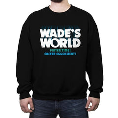 Wade's World - Crew Neck Sweatshirt - Crew Neck Sweatshirt - RIPT Apparel