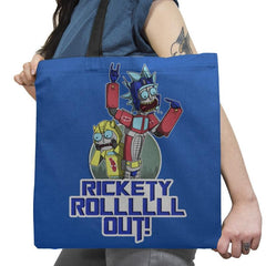 RICK ROLLLLLL OUT! Exclusive - Shirtformers - Tote Bag - Tote Bag - RIPT Apparel