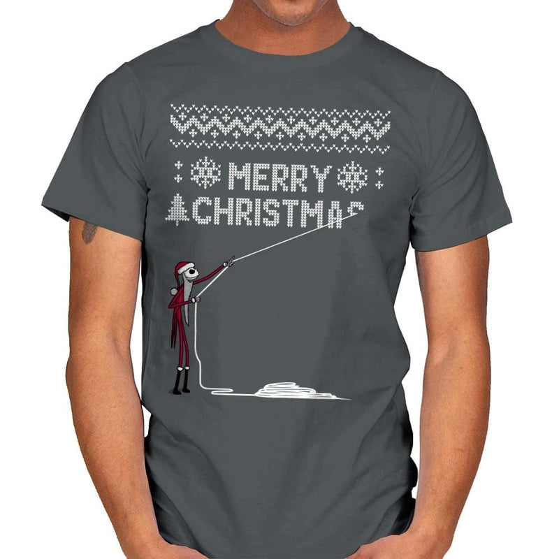 Stolen Christmas - Ugly Holiday - Mens - T-Shirts - RIPT Apparel
