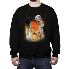 A Nightmare Before Carbonite - Crew Neck Sweatshirt - Crew Neck Sweatshirt - RIPT Apparel