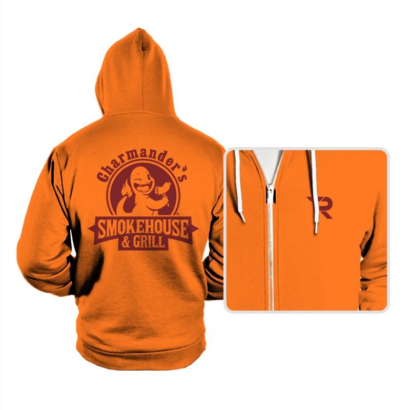 Charmander's Smokehouse & Grill - Hoodies - Hoodies - RIPT Apparel