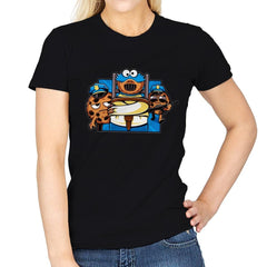 Cookie Devourer - Womens - T-Shirts - RIPT Apparel