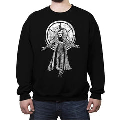 Edgar Allan Crow - Crew Neck Sweatshirt - Crew Neck Sweatshirt - RIPT Apparel