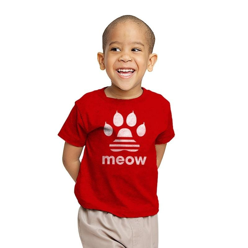 Meow Classic - Youth - T-Shirts - RIPT Apparel