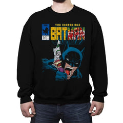 The Incredible Bat - Anytime - Crew Neck Sweatshirt - Crew Neck Sweatshirt - RIPT Apparel