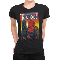 Red Hood - Womens Premium - T-Shirts - RIPT Apparel