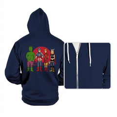 King of the Heroes Reprint - Hoodies - Hoodies - RIPT Apparel