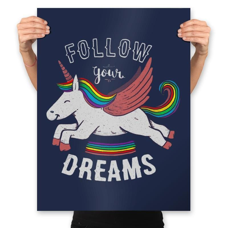 Forever Follow Your Dreams - Prints - Posters - RIPT Apparel