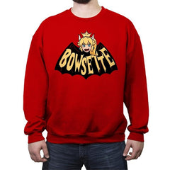 BowsetteMan - Crew Neck Sweatshirt - Crew Neck Sweatshirt - RIPT Apparel