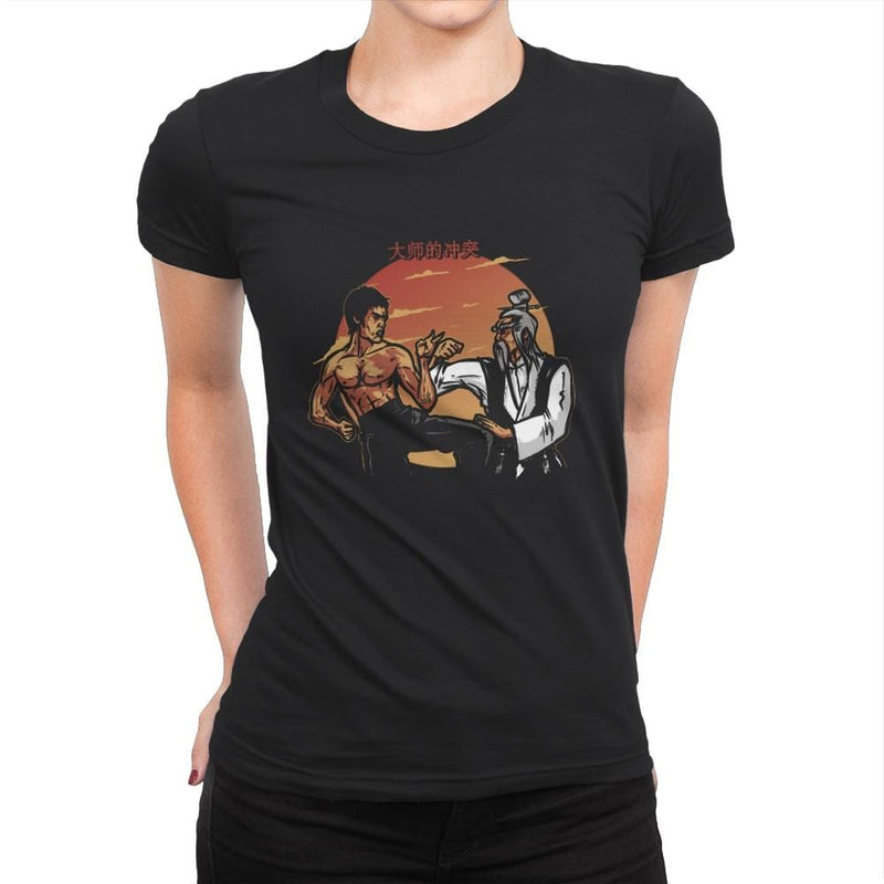 Conflict of Masters - Womens Premium - T-Shirts - RIPT Apparel