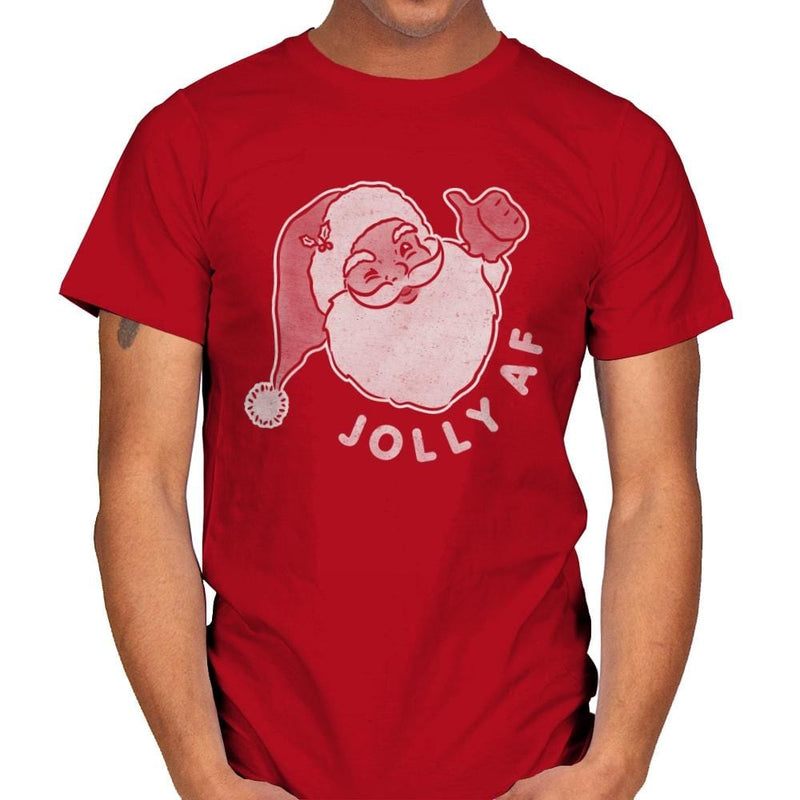 Jolly AF - Mens - T-Shirts - RIPT Apparel