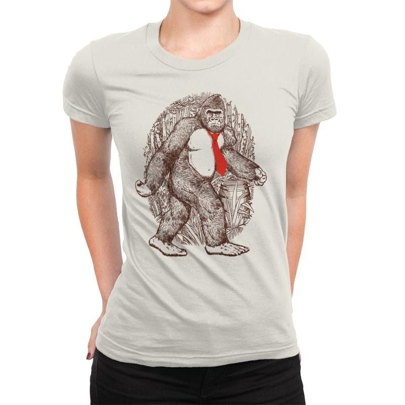 Donkey Sighting - Womens Premium - T-Shirts - RIPT Apparel