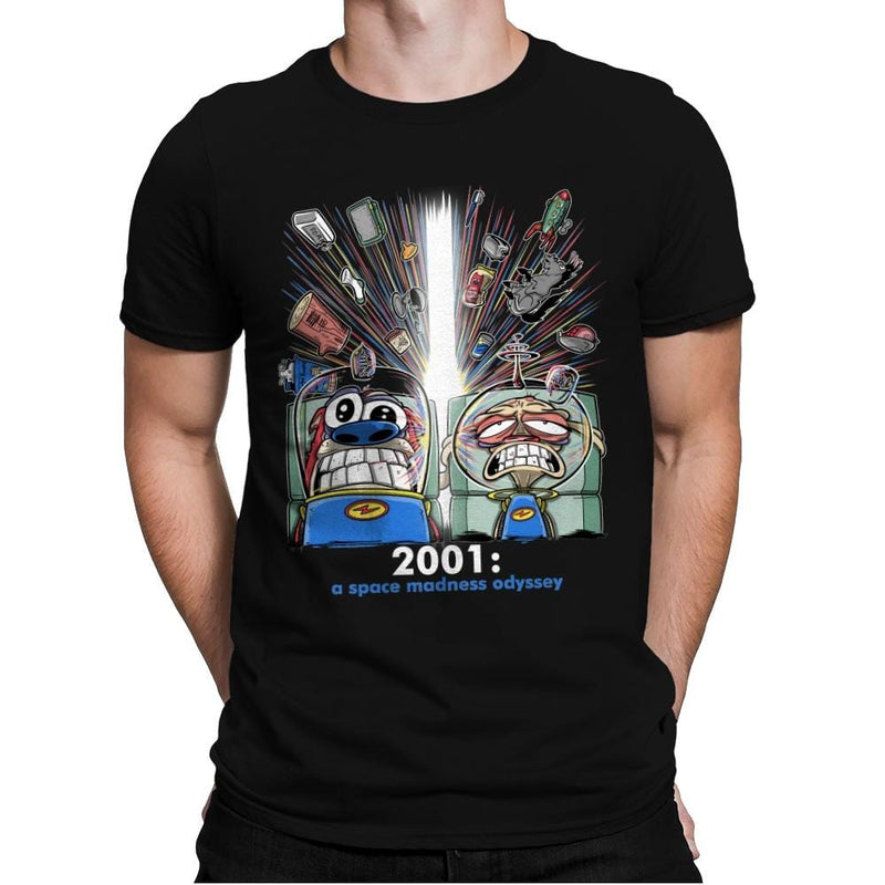 2001: A Space Madness Odyssey Exclusive - Mens Premium - T-Shirts - RIPT Apparel