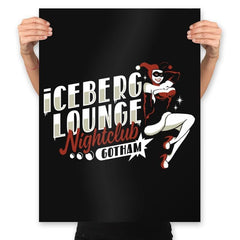 Iceberg Lounge Nightclub - Prints - Posters - RIPT Apparel