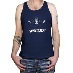 WWJJD? Exclusive - Tanktop - Tanktop - RIPT Apparel
